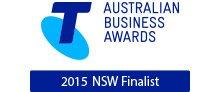 Telstra Australia Business Awards 2015 NSW Finalist