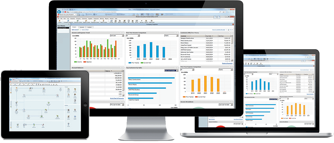 Integrate accounting and POS